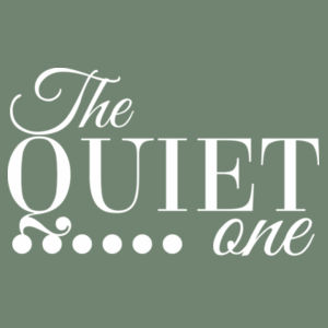 The Quiet One - Womens Maple Tee Design