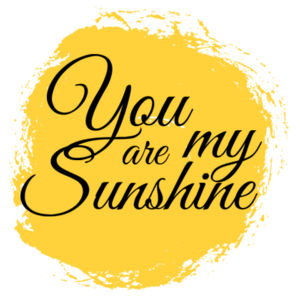 You Are My Sunshine - Cushion cover Design