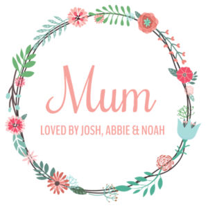 Mum Loved By - Cushion cover Design