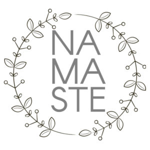 Namaste - Cushion cover Design