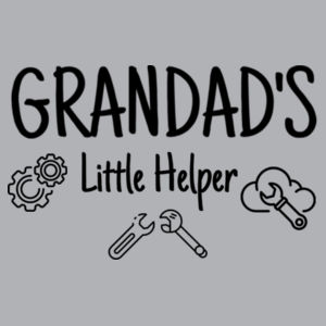 Grandad's Little Helper - Kids Wee Tee Design