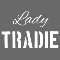 Lady Tradie - Womens Maple Tee Design