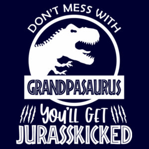 Don't Mess With Grandpasaurus - Apron Design