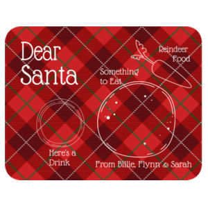 Santa's Placemat Personalised - Placemat  Design