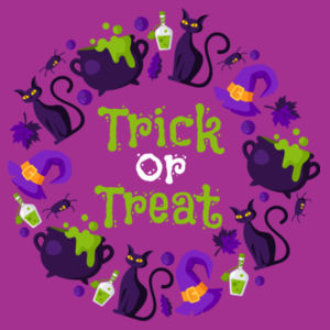 Trick or Treat - Tote Bag Design