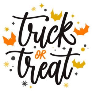 Treat or Trick - Large Wall Banner (A3) Design