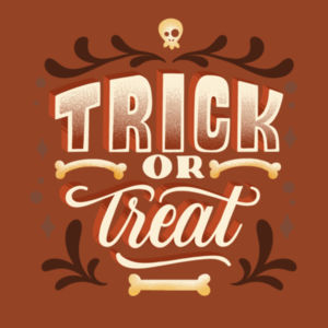 Happy Trick or Treat - Mens Basic Tee Design