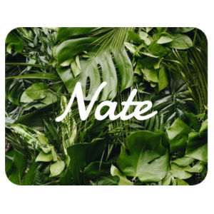 Tropical Leaves - Placemat  Design