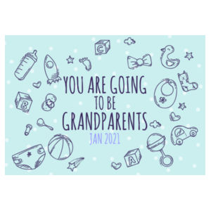 You are going to be Grandparents - Puzzle  Design