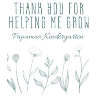Thank you for helping me grow - Personalise and Customise  - Tea Towel Design