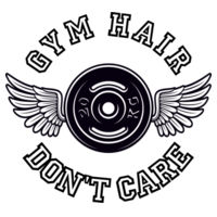 Gym hair don't care - Stainless Bottle Design