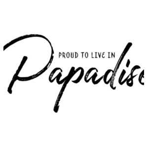 Proud to live in Papadise - Mini-Me One-Piece Design