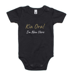Kia Ora! I'm New Here - Mini-Me One-Piece Thumbnail