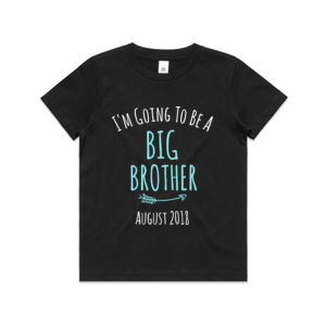 I'm Going To Be A Big Brother/Sister - Kids Youth T shirt Thumbnail