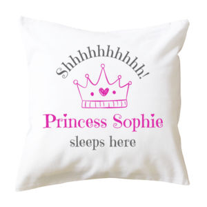 Personalised Princess - Cushion cover Thumbnail