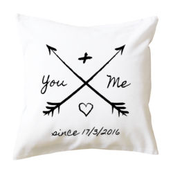 You And Me Since X/X/XXXX - Cushion cover Thumbnail