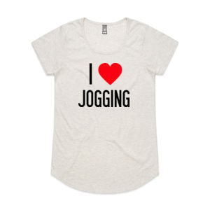 I Heart Jogging - Womens Mali Tee Thumbnail