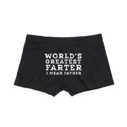 World's Greatest Farter - Men's Boxer Briefs Thumbnail