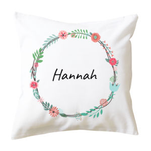 Floral Wreath - Cushion cover Thumbnail