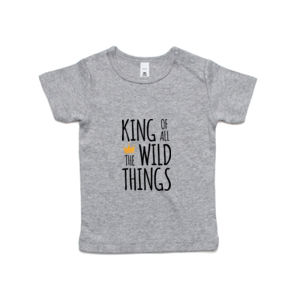 King of all the Wild Things - Kids Wee Tee Thumbnail
