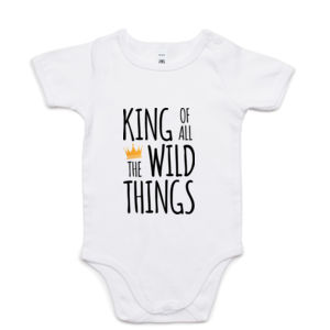 King of all the Wild Things - Mini-Me One-Piece Thumbnail