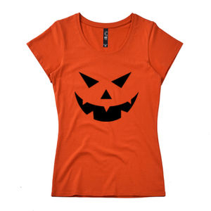 Halloween Jack O Lantern - Womens Icon Tee Thumbnail
