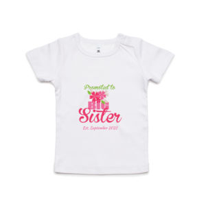 Promoted to Big Sister - Kids Wee Tee Thumbnail