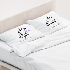 Mr Right - Pillowcase  Thumbnail