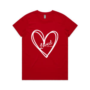 Loved Since 2003 - Womens Maple Tee Thumbnail
