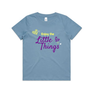 Enjoy The Little Things - Kids Youth T shirt Thumbnail