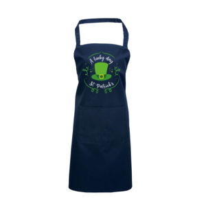 A Lucky Day - St. Patricks Day - Custom Apron - Apron 2 Thumbnail