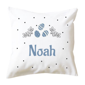 Personalised Custom Kids Easter Cushion - Cushion cover Thumbnail