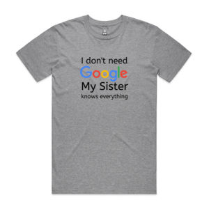 I don't need Google - Mens Staple T shirt Thumbnail