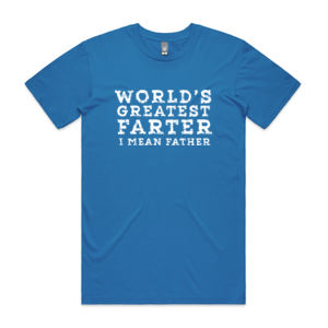 World's Greatest Farter - Mens Staple T shirt Thumbnail