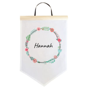 Floral Wreath - Large Banner (A3) Thumbnail