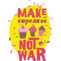 Make Cupcakes Not War Thumbnail