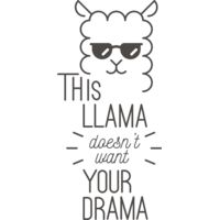 This Llama Doesn't Want Your Drama Thumbnail